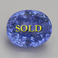 Unheated Blue Sapphire for Vedic Astrology