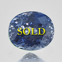 Unheated Certified Blue Sapphire for Vedic Astrology