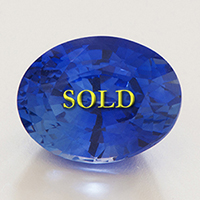 Fine Top Quality Kashmir Blue Sapphire for Jyotish