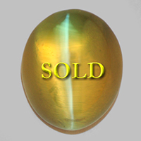 Jyotish Cat's Eye Chrysoberyl for Astrology / Ayurveda