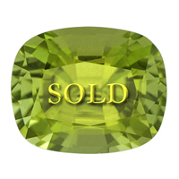 Fine Burmese Peridot for Vedic Astrology 4.19 carats