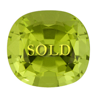 Jyotish Astrological Peridot 4.93 carats