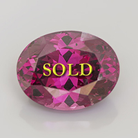 Rhodolite Garnet for Vedic Astrology 4.73 carats