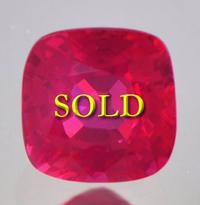 Fine Unheated Untreated Ruby for Vedic Astrology (Jyotish) and Ayurveda 1.16 carats