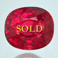 Fine Unheated Untreated Ruby for Vedic Astrology (Jyotish) and Ayurveda