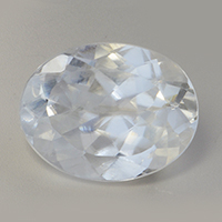 4 Carat White Sapphire Venus Astrological Gemstone