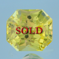 Unheated Untreated Certified Yellow Sapphire Guru Gemstone