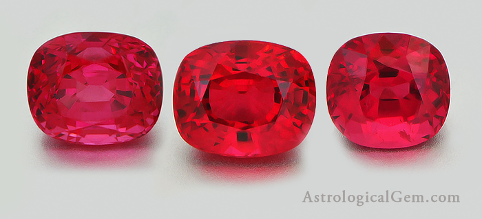 ruby precious stone in vedic astrology