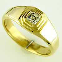 Men's Diamond Rings for Jyotish