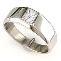 Men's Diamond Rings for Vedic Astrology