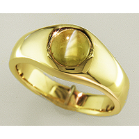 Cat's Eye Ring for Jyotish/Vedic Astrology