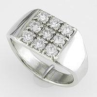 Ladies Diamond Ring for Jyotish / Astrology/Ayurveda