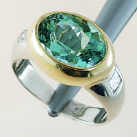Emerald & Diamond Ring for Astrology